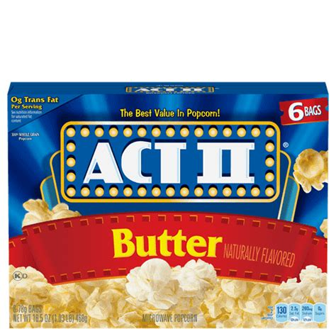 butter popcorn act ii