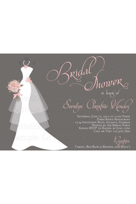 bridal shower invitations bridal shower invitations via email - Bridal Shower Invitations Email