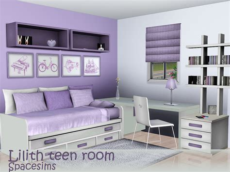 Sims 3 Room by Spacesims Lilith Room
