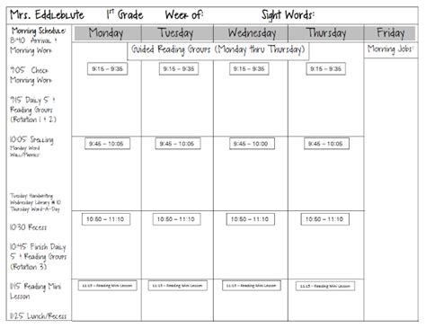 Guided Reading Lesson Plan Template For 1st Grade 1000 Ideas About Guided Reading Lessons On 1st Grade Lesson Plan Template