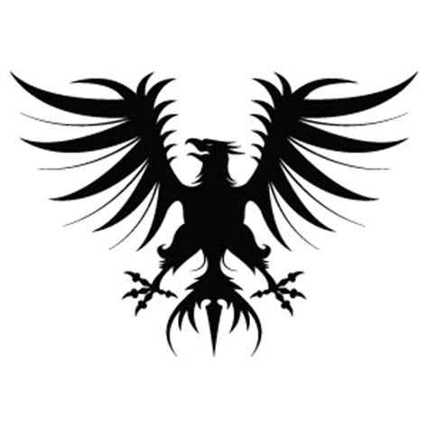 Grey And Red Kitchen Designs - heraldry eagle 171 my wall skins
