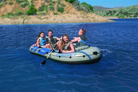 excursion 4 opblaasbare boot intex 68324np zwembad eu - Opblaasbare Boot 4 Personen