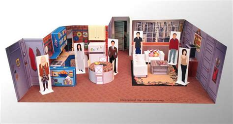 Awesome Papercraft - awesome papercraft dioramas of popular tv show sets