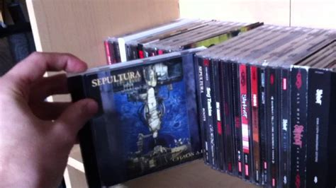 Collection Metal cd vinyl collection part 2 rock metal