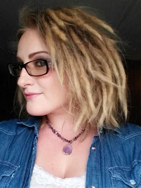shortbleached dreadlocksimages 25 best ideas about short dreads on pinterest blonde