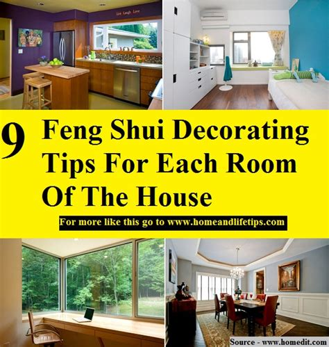 feng shui decorating tips 9 feng shui decorating tips for each room of the house