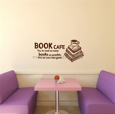 stickers on your wall book cafe it is for your own wall decals