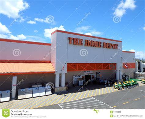 oahu home depot imagem editorial imagem 64395630