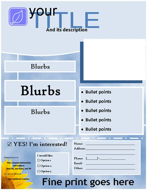 blank templates for flyers 9 best images of blank flyer templates blank flyer