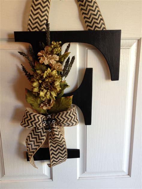 Letter Wreaths For Door 25 best ideas about letter door wreaths on