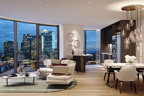 london penthouse view contemporary home decor modern