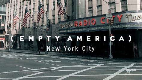 I Am In New York City For My Appearance On The Mar by New York City Timelapse Empty America