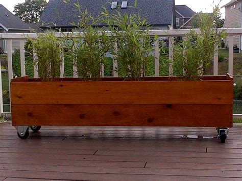 Wheels For Planters by 17 Best Ideas About Planter Box Designs On