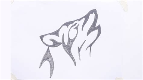 tribal tattoos easy to draw easy tribal wolf www pixshark images