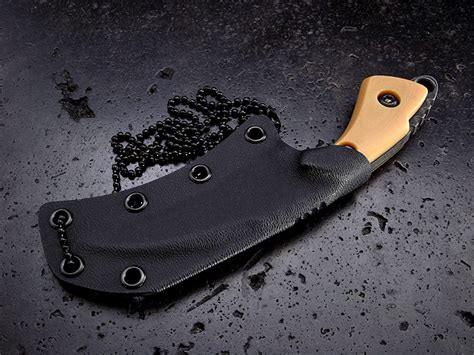 Handmade Neck Knives - custom neck knife 247