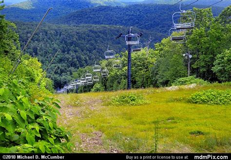 Blue Knob Ski Pa by Blue Knob Ski Resort Slopes Picture 037 July 18 2009