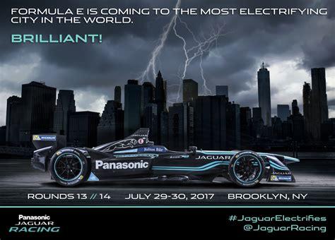 jaguar nyc jaguar welcomes fia formula e chionship to nyc just