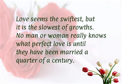 Wedding Anniversary Quote For by 25 Year Wedding Anniversary Quotes