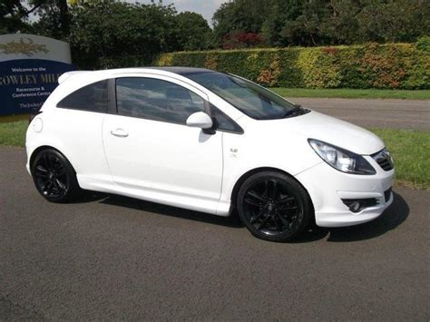 vauxhall white used vauxhall corsa for sale 163 79000 autopazar