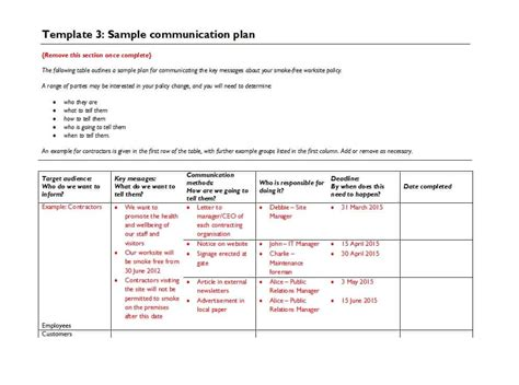 change communication plan template 37 simple communication plan exles free templates ᐅ