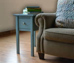 Living Room End Table Plans White Narrow Cottage End Tables Diy Projects