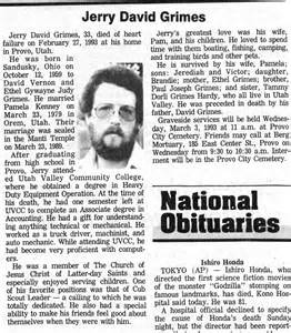 Daily Herald Obituary Ancestors Of