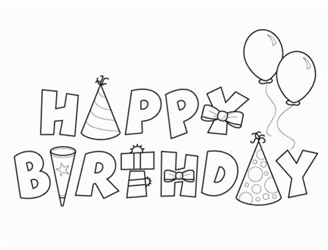june birthday coloring pages coloring pages printable happy birthday coloring pages