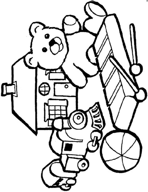 toys coloring pages 3 free printable coloring pages