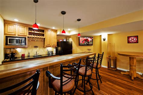 basement bar contemporary basement st louis by