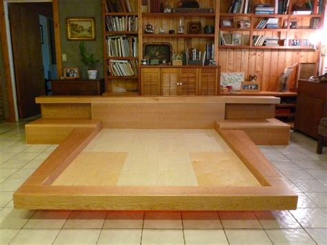 how to build a size platform bed frame 25 best ideas about japanese platform bed on