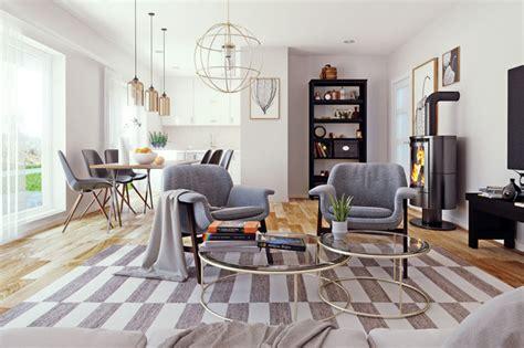Miroir De Salon 3212 by Interior Visualization Scandinavian Style Interior