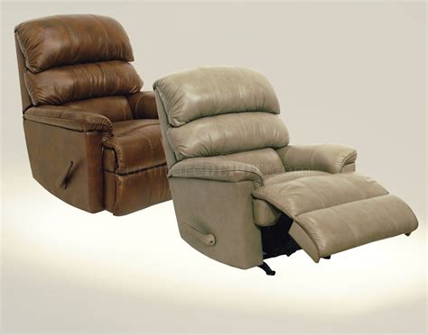 bentley recliner tobacco or mushroom leather touch modern bentley recliner