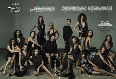 Vanity Fair American by Vanity Fair Celebrates American Models In Their September 2001 Issue Leibovitz