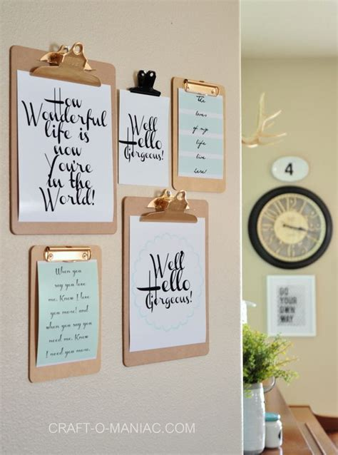 home decor inspiration diy shoestring wall art ideas and projects love these