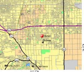 chino california map 91710 zip code chino california profile homes