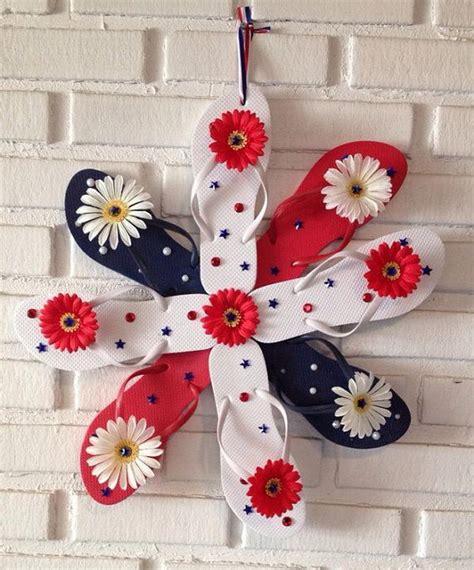 Flip Flop Decorating Ideas by 10 Diy Flip Flop Wreath Decorating Ideas Hative