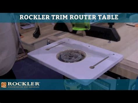 Rockler Trim Router Table by Trim Router Table Rockler Woodworking And Hardware