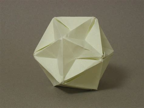 Great Origami - free coloring pages zing origami polyhedra and