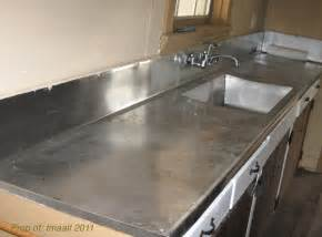 Kitchen Sink Counter Two And A Farm Our Stainless Steel Sink Counter And A New Version