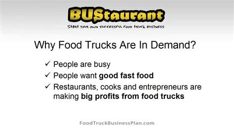 sle business plan food truck food truck business plan youtube