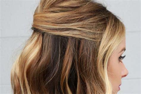 tutorial rambut wavy tutorial rambut half up party lob favorit popbela