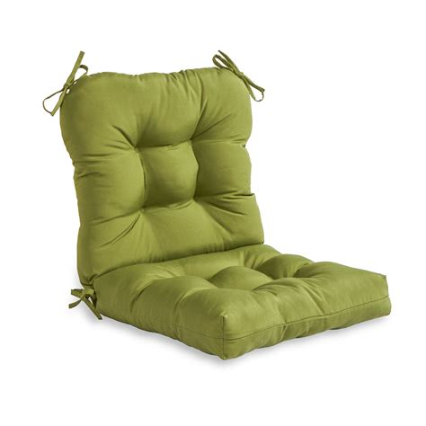 greendale home fashions outdoor seatback chair cushion
