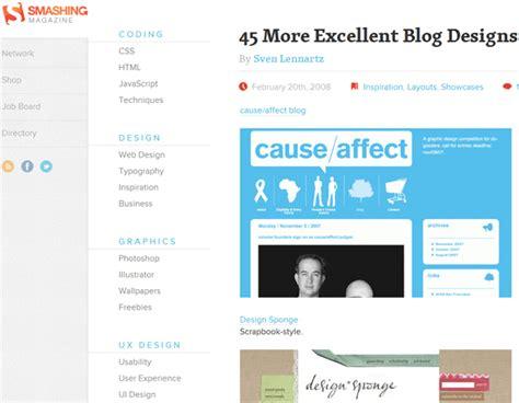 blog layout design inspiration 21 tactics to increase blog traffic updated 2014 moz