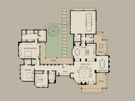 U Shaped Floor Plans by U Shaped House Floor Plans With Courtyard 2018 House
