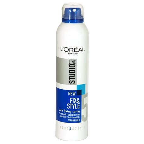 L Oreal Studio l oreal studio line fix and style fixing spray strong