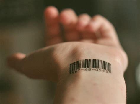 barcode tattoo on hand barcode tattoo frame 4 zamisli ba