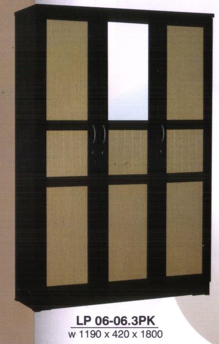 Lemari Pakaian 2 Pintu Sliding Cermin Lpt 2006 lemari pakaian