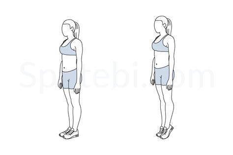 Easy Floor Plans Calf Raises Illustrated Exercise Guide