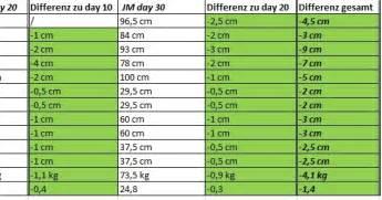 shred vorher nachher jillian 30 day shred results vorher nachher