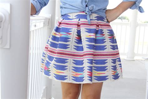 pleated mini skirt diy the sewing rabbit
